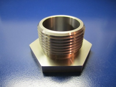 "1-3/4"" HEX Fitting 303 SST"