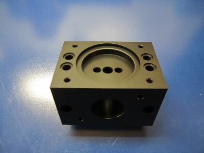 Delrin Pump Housing (six sided CNC milling)